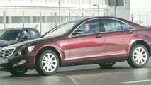 Mercedes S Class Facelift Spy Photos