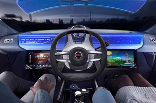 Movable Steering Wheel Has a Future in Autonomous Cars