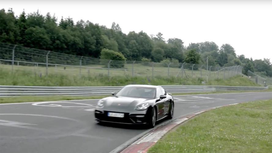 2017 Porsche Panamera is the fastest luxury sedan to lap the Nurburgring