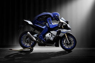 Watch Yamaha's Motorcycle-Riding Robot in Action