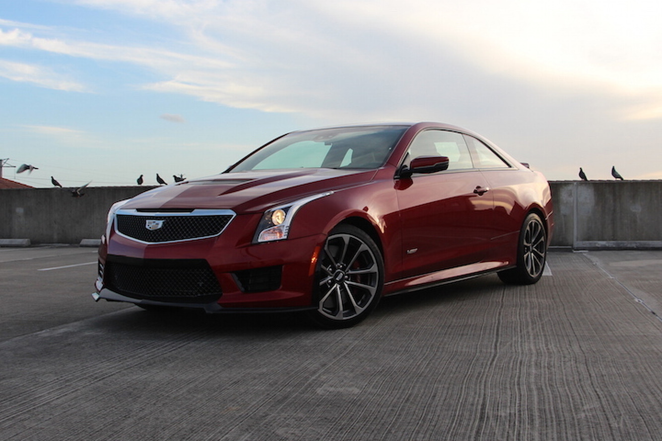 The 2016 Cadillac ATS-V Coupe Sends Germany Back to the Drawing Board: Review