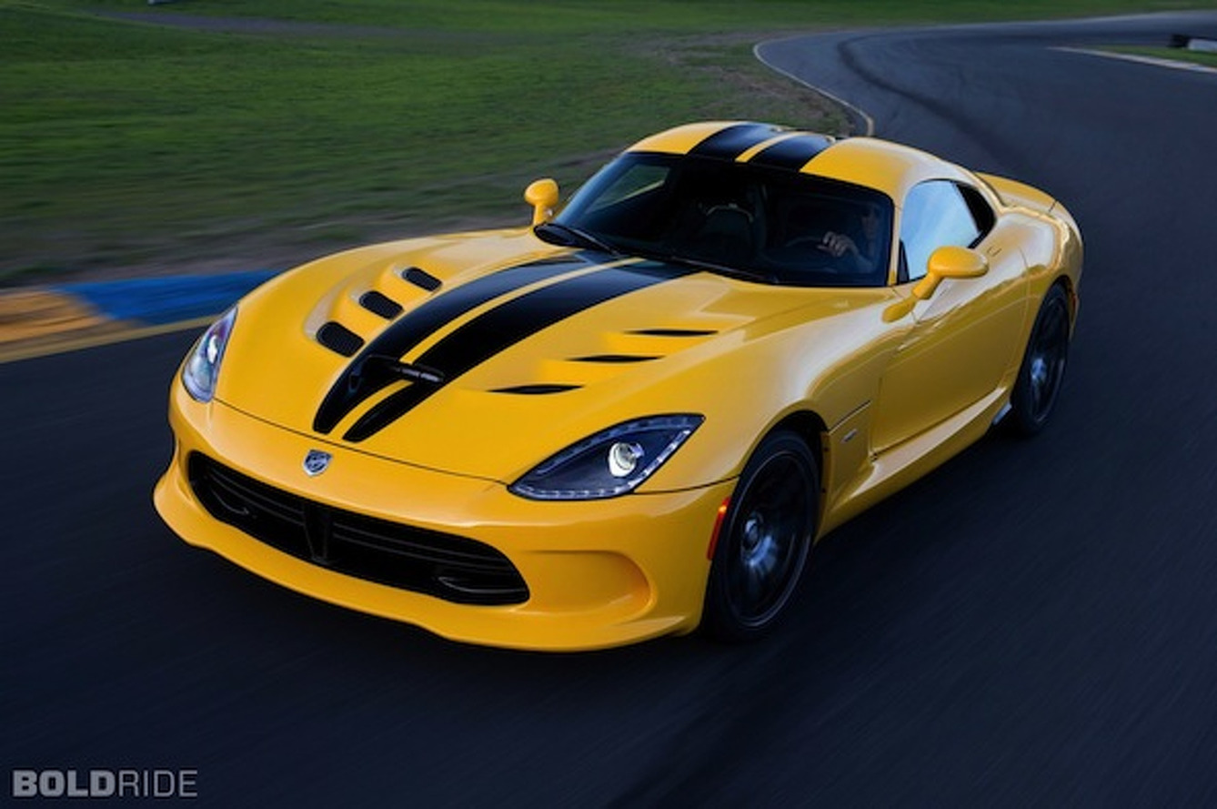 2014 SRT Viper Price Bumped to $99,395*