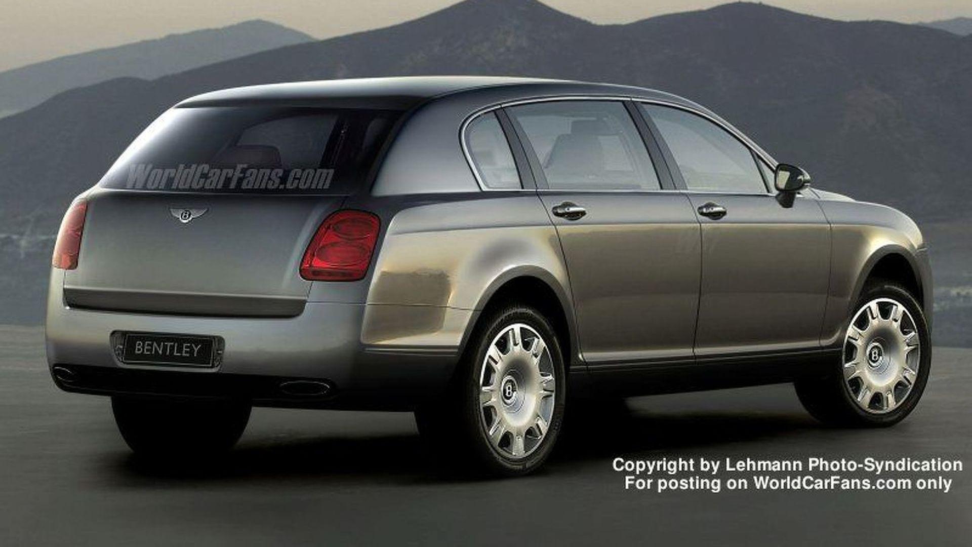 Spy Photos: More New Bentley 4x4