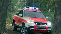 Volkswagen Touareg emergency ambulance