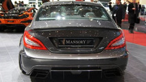 Mansory Mercedes-Benz CLS 63 AMG live in Geneva 12.03.2012