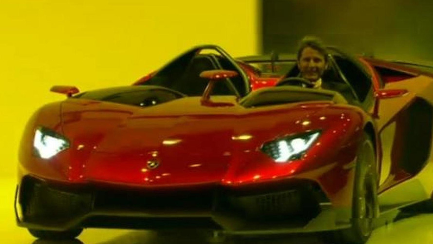 Lamborghini Aventador J promo video released
