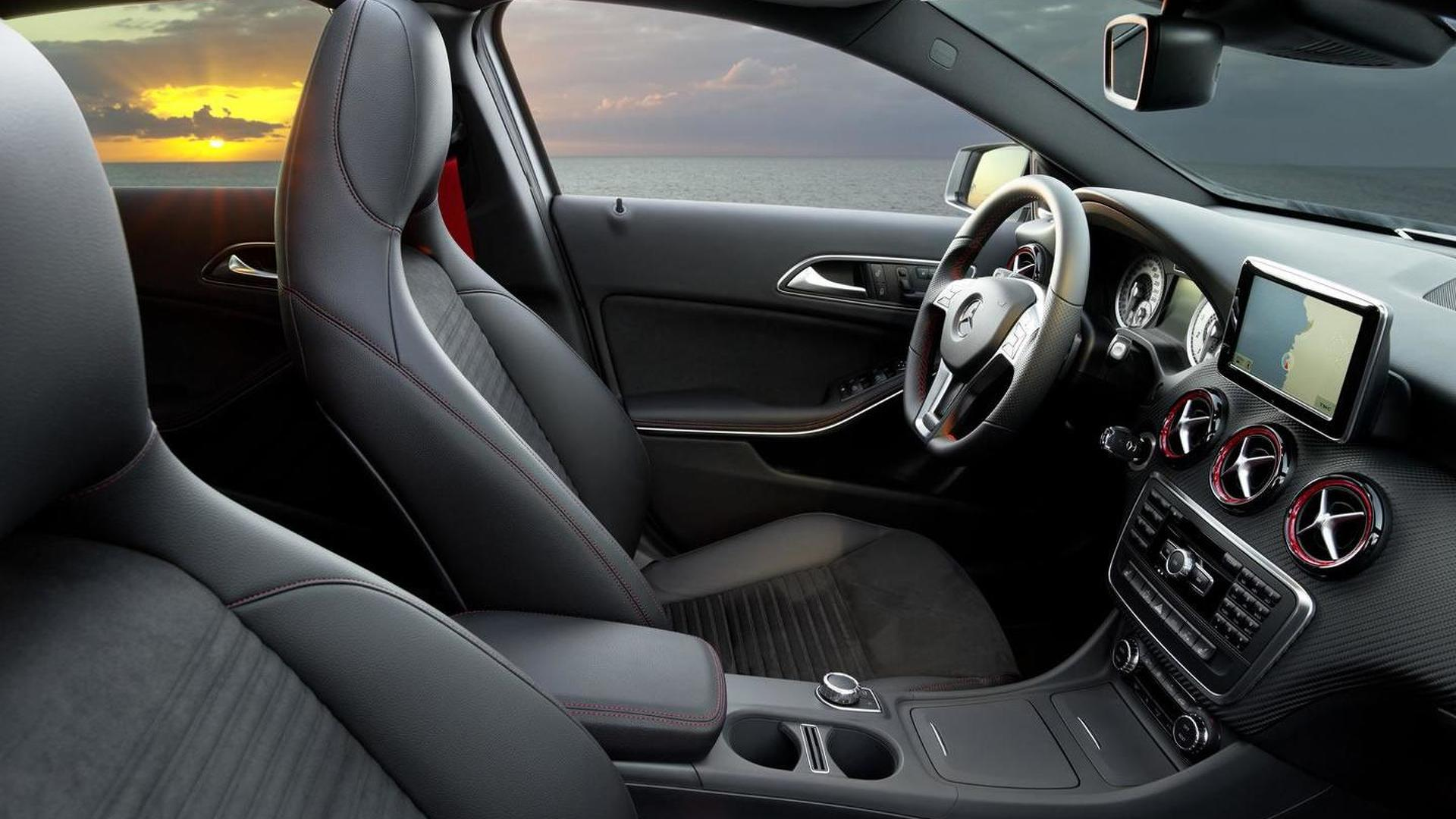 2013 Mercedes A-class officially revealed [video]