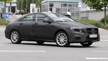 2014 Mercedes CLA-class prototype spy photo