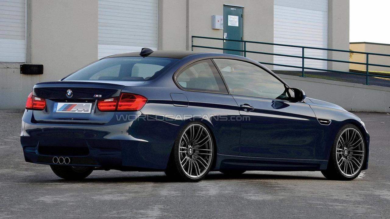 2014 BMW M3 F80 artist rendering 29.03.2012