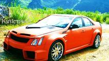 Cadillac CTS from China