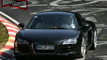 Audi R8 V10 Spotted in Full Production Trim at Nurburging