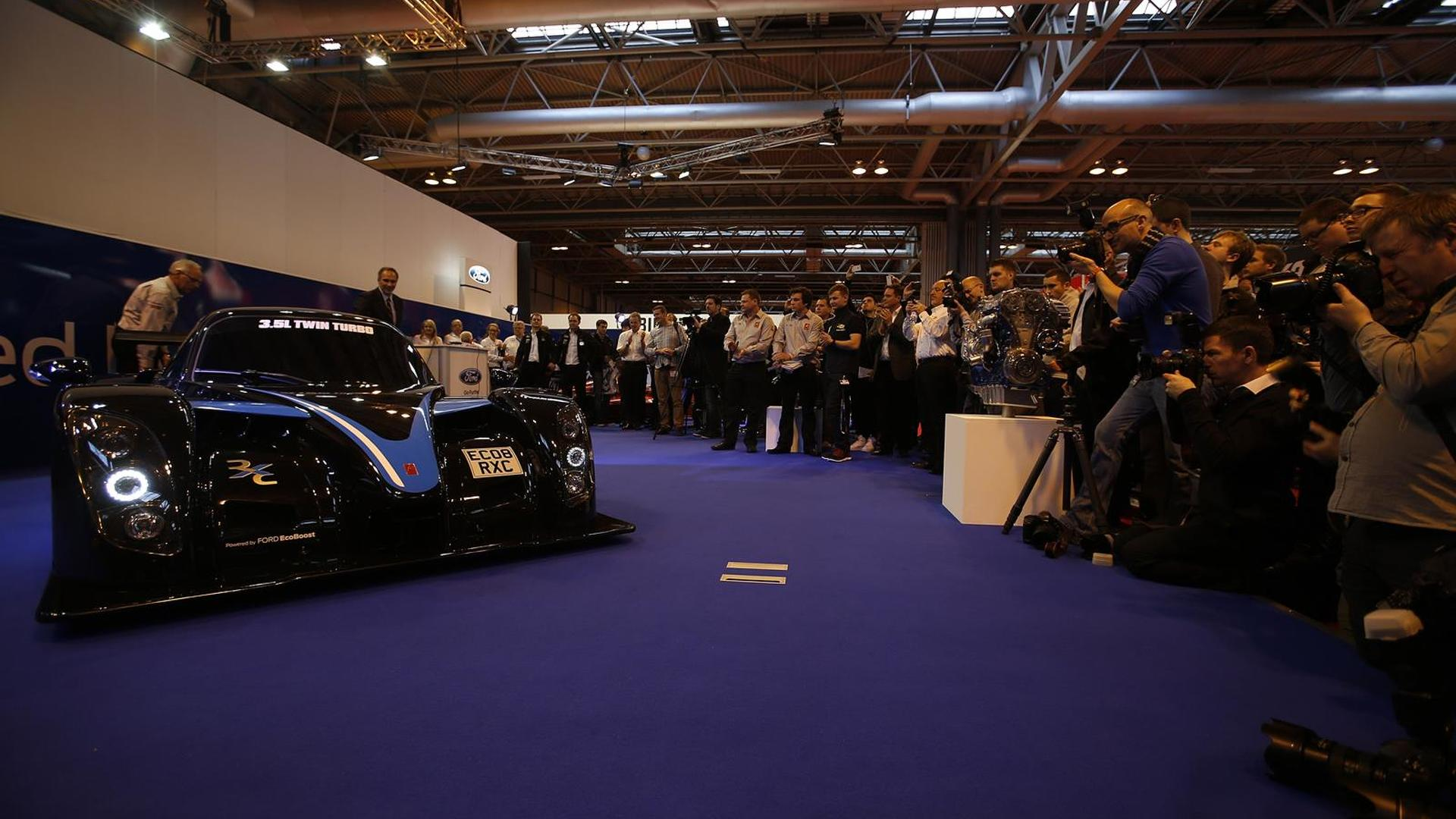 Radical RXC Turbo unveiled at Autosport International, packs a 454 bhp twin-turbo V6 EcoBoost engine