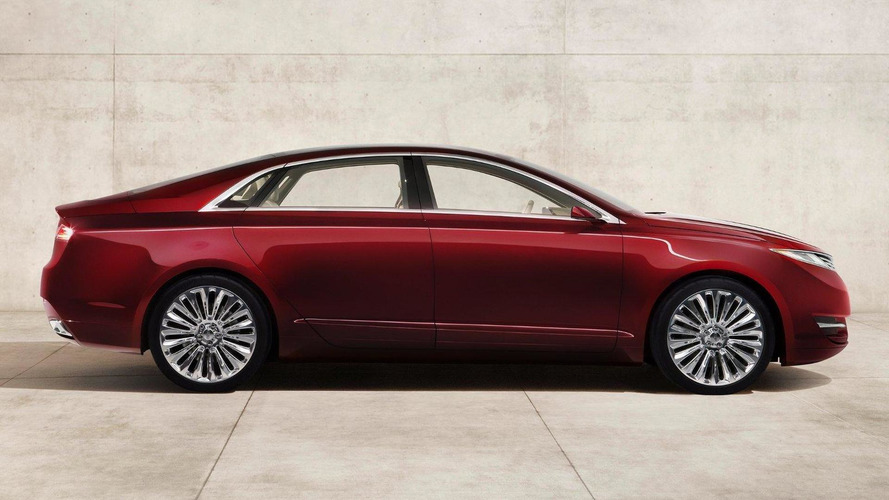 Lincoln MKZ Concept revealed