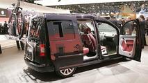Volkswagen Caddy and Multivan Concepts at Geneva