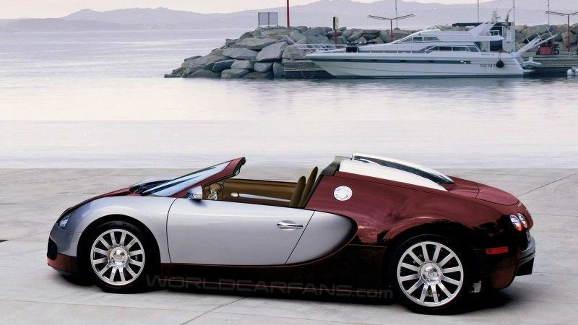 Bugatti Veyron Targa Scheduled for 2009