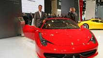 Ferrari 458 Italia Unveiled in Frankfurt