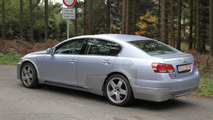 first spy pics of next-gen Lexus GS