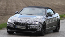 2012 BMW M6 Coupe and Cabrio spied
