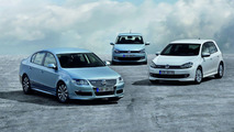 VW BlueMotion Polo, Golf and Passat Production Versions