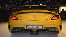 2014 Mercedes SLS AMG Black Series live in L.A. 29.11.2012