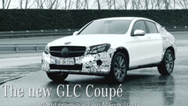 Mercedes GLC Coupe teased for New York [video]