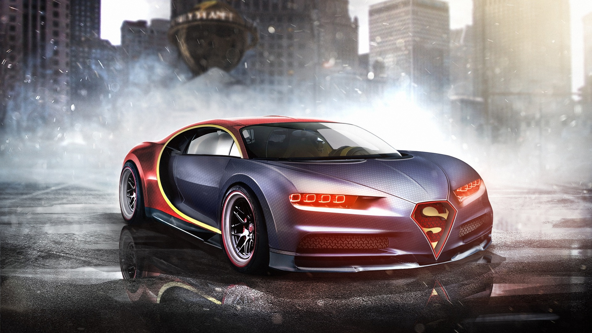 What supercars would superheroes drive? Take a look at these renders