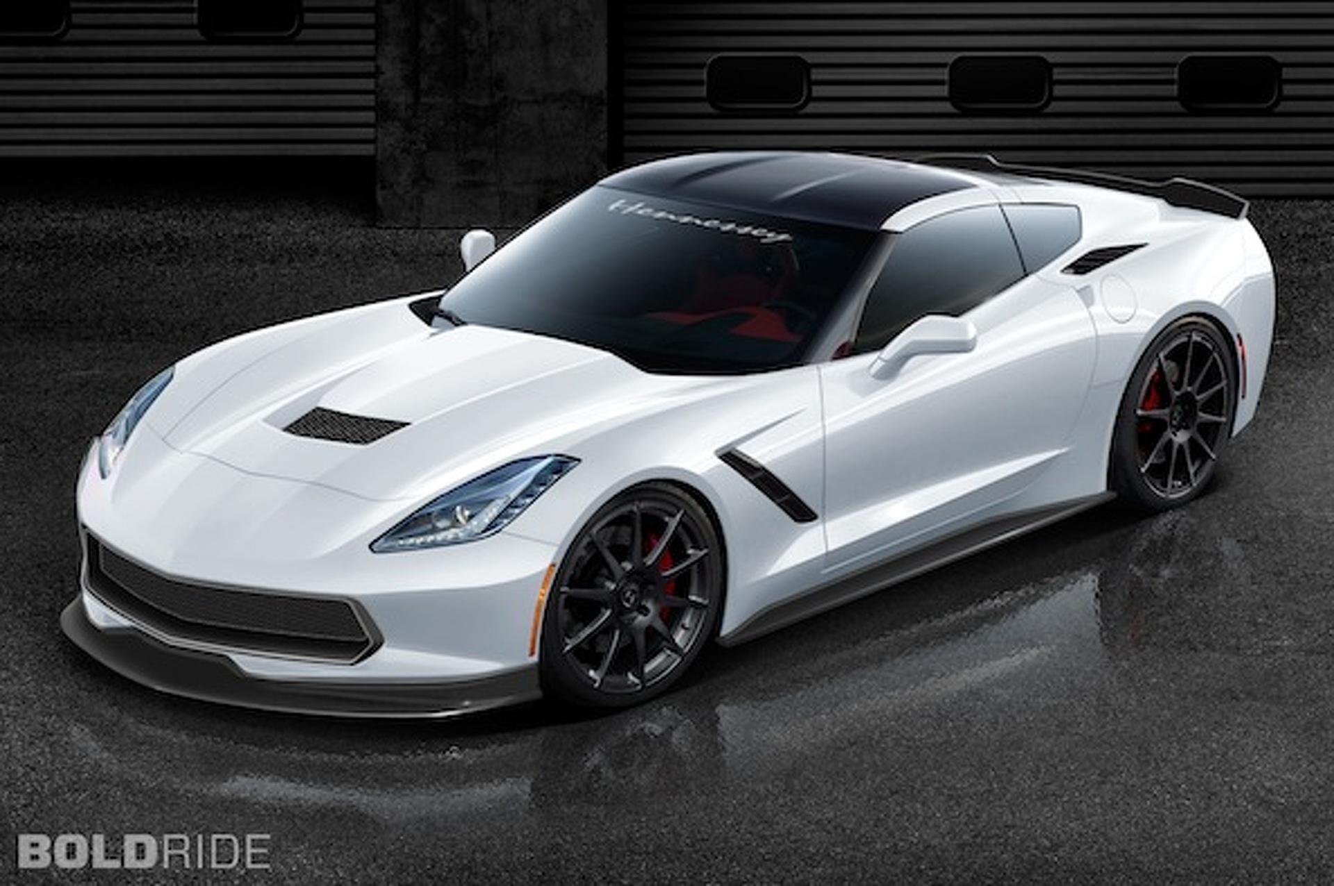 Hennessey Unleashes 1,000HP Corvette Stingray