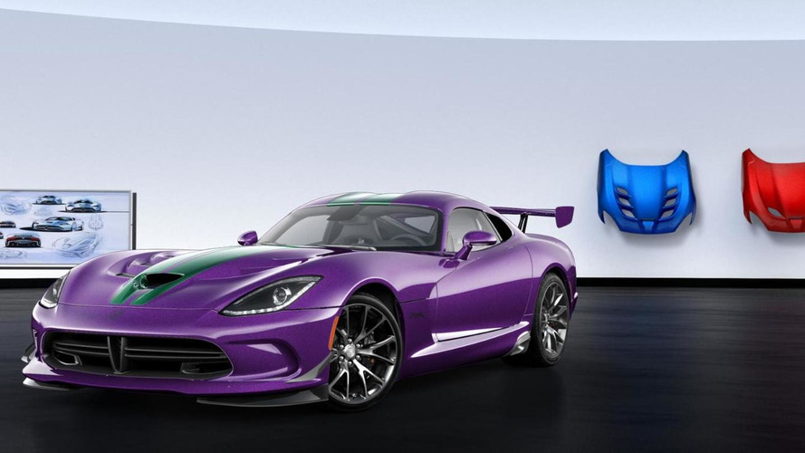 Dodge Viper GTC configurator launched as the model goes into production