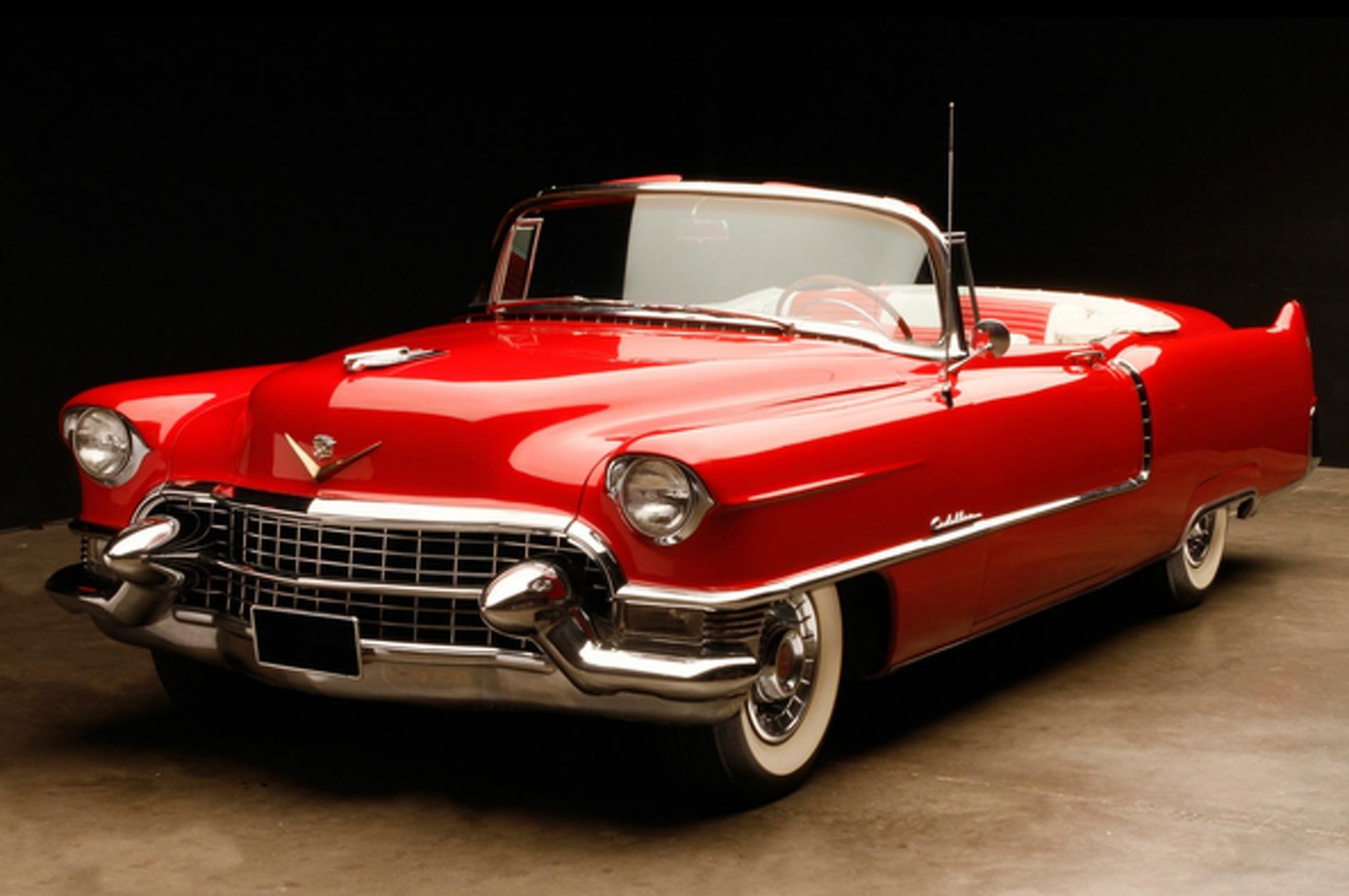 Wheels Wallpaper: 1954 Cadillac Series 62 Convertible Coupe