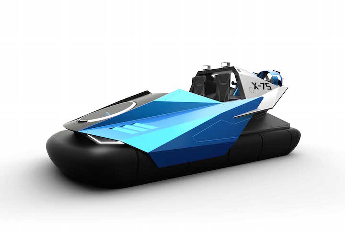 This Sporty Hovercraft Concept Could Bring the Segment Back to Life