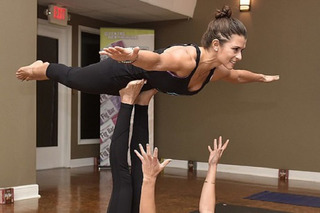 Danica Patrick Preps for Daytona 500 with Yoga