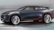 Audi e-tron quattro concept teased ahead of IAA debut, previews electric Q6