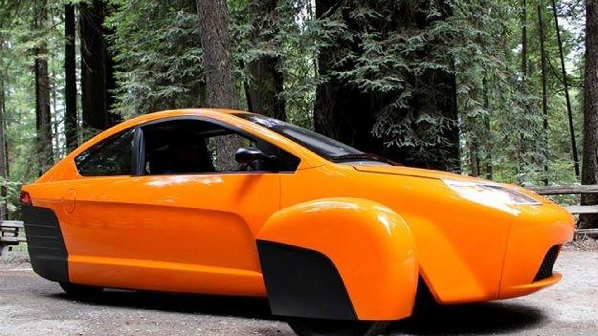 Elio P5 three-wheeler announced, promises to return 84 mpg