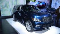 2015 Infiniti QX80 at 2014 New York Auto Show