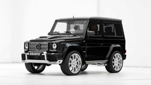 Brabus tunes the short wheelbase Mercedes-Benz G-Class