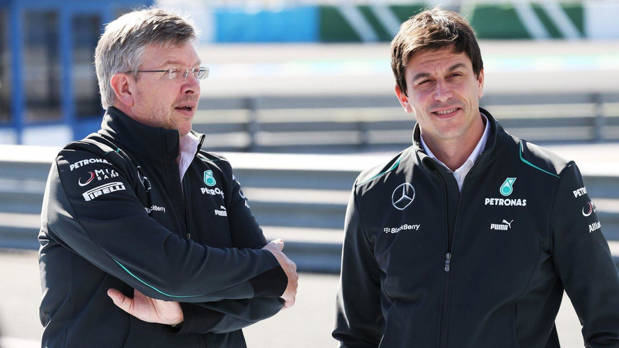 Wolff trying to lure Brawn back to Mercedes