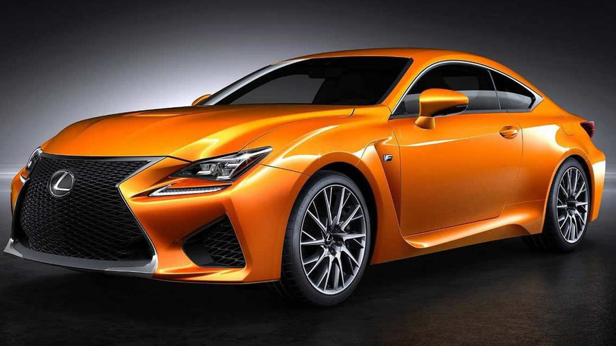 Lexus asking fans to name new orange paint for RC F