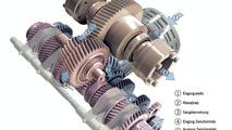 Carrera GT six-speed manual gearbox