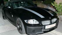 BMW Z4 Coupe Spy Photos