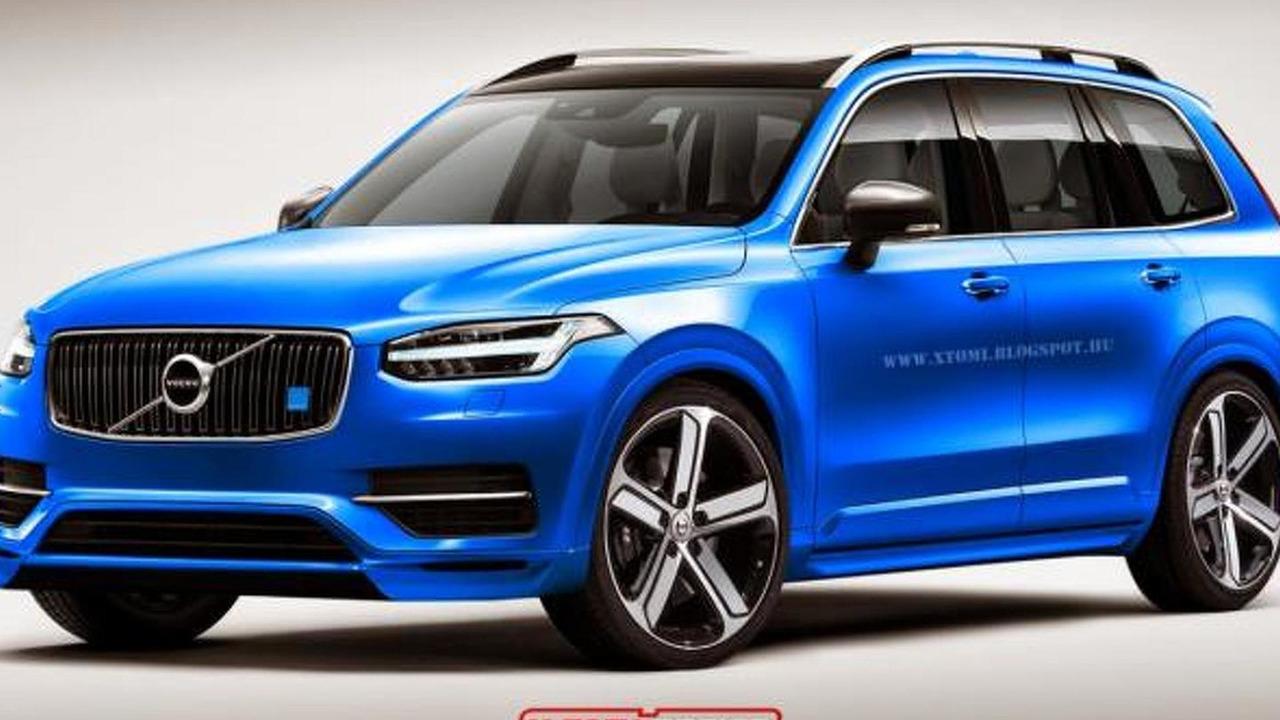 Volvo XC90 Polestar rendering