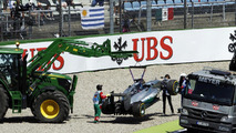 Rivals considered protesting Hamilton brake switch