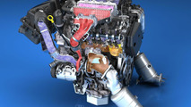 Cadillac twin-turbo 3.0-liter V6 engine
