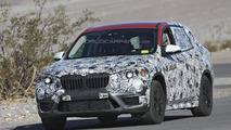 Second generation BMW X1 returns in more revealing spy shots