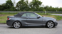2015 BMW 2-Series Convertible spy photo