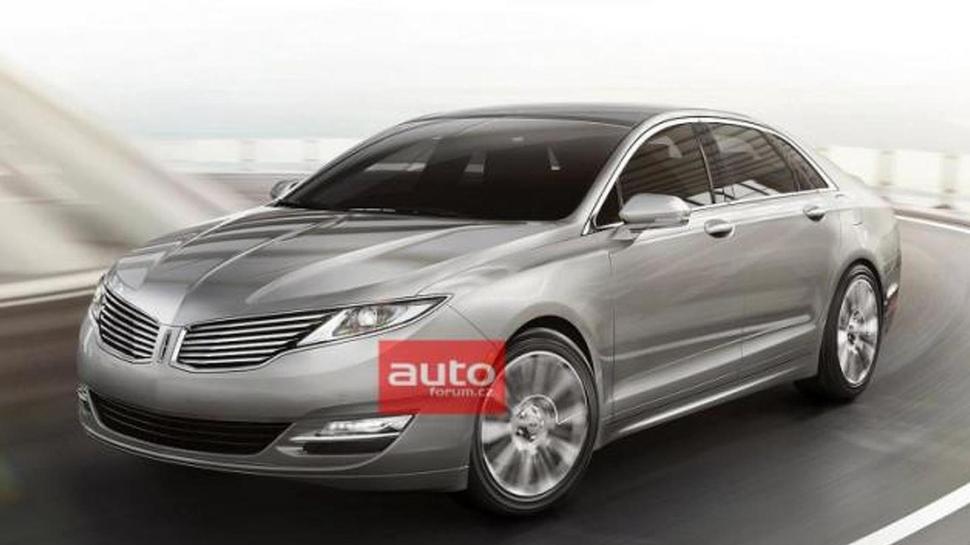 2013 Lincoln MKZ leaked [video]