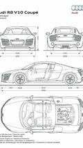 2013 Audi R8 V10 dimensions