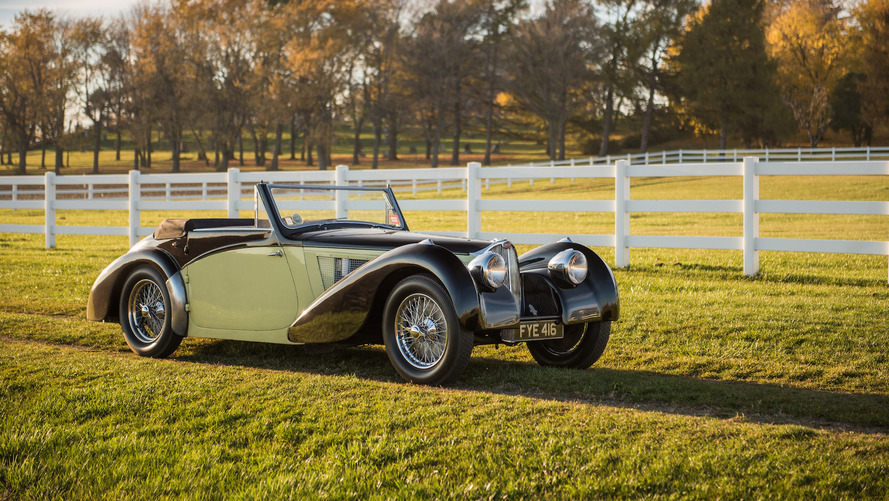 Beautiful Bugatti Type 57S Cabriolet could fetch $11.5M at auction