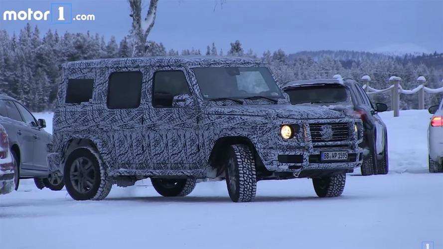Mercedes-Benz G-Class Winter Spy Video