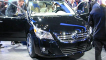 Volkswagen confirms axing Routan this year