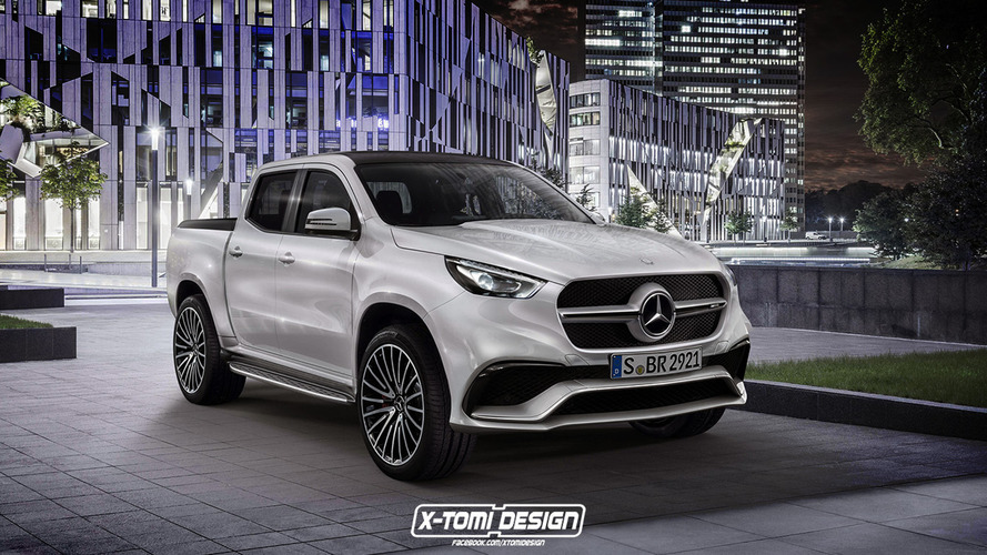 Mercedes X63 AMG rendering raises the question, who would buy this?